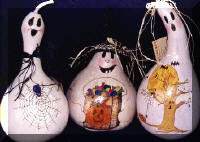 White Ghost Gourds
