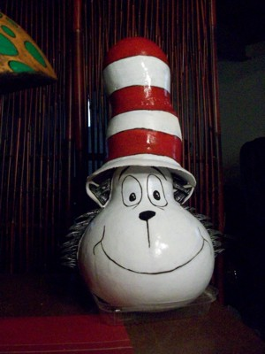 Cat in the Hat Gourd