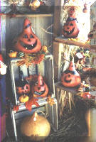 Gourds With Faces